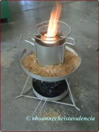 rice husk stove 1